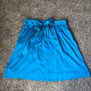 Super cute silk skirt!
